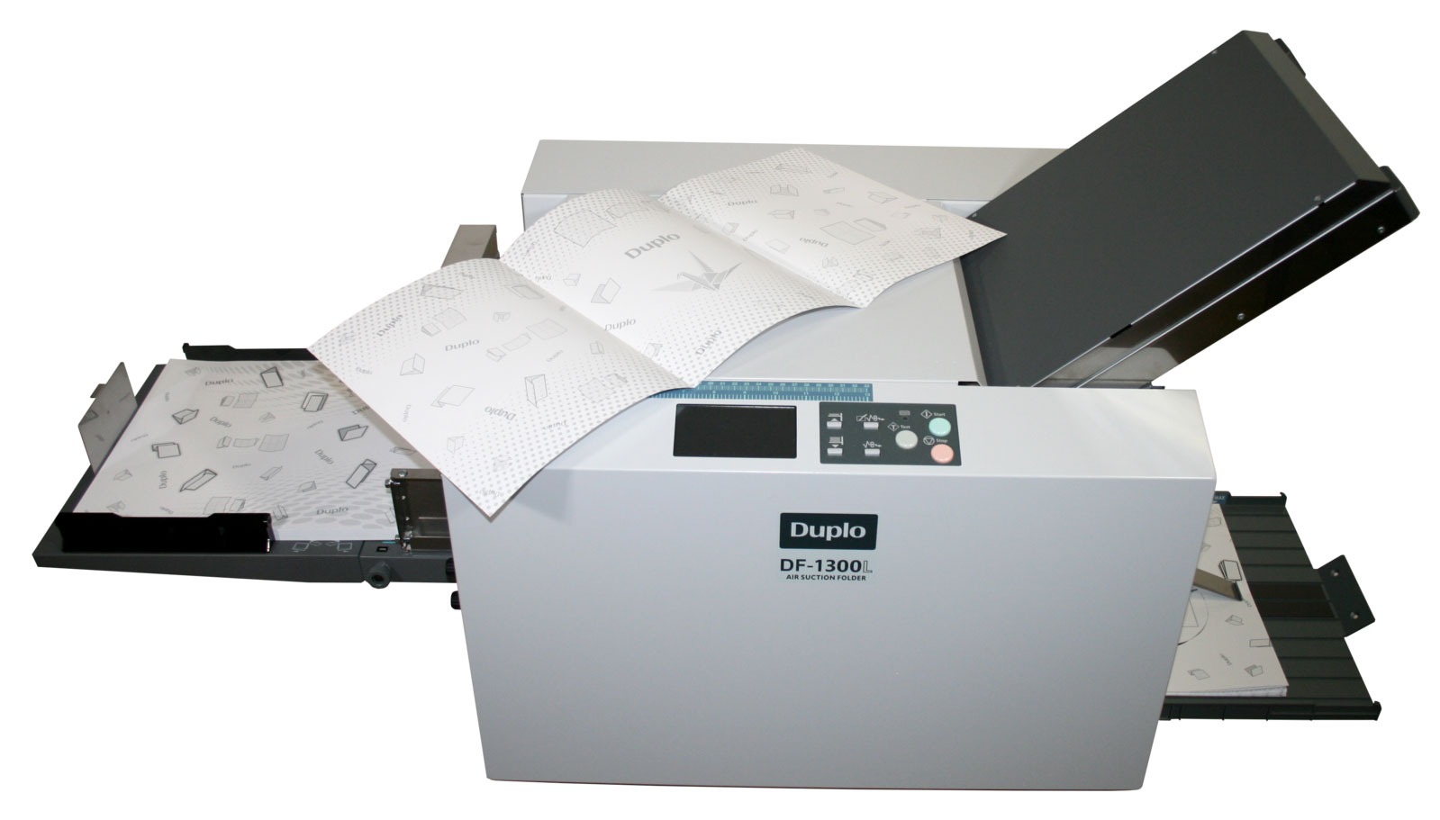 Duplo DF-1300L Langbogen-Falzmaschine